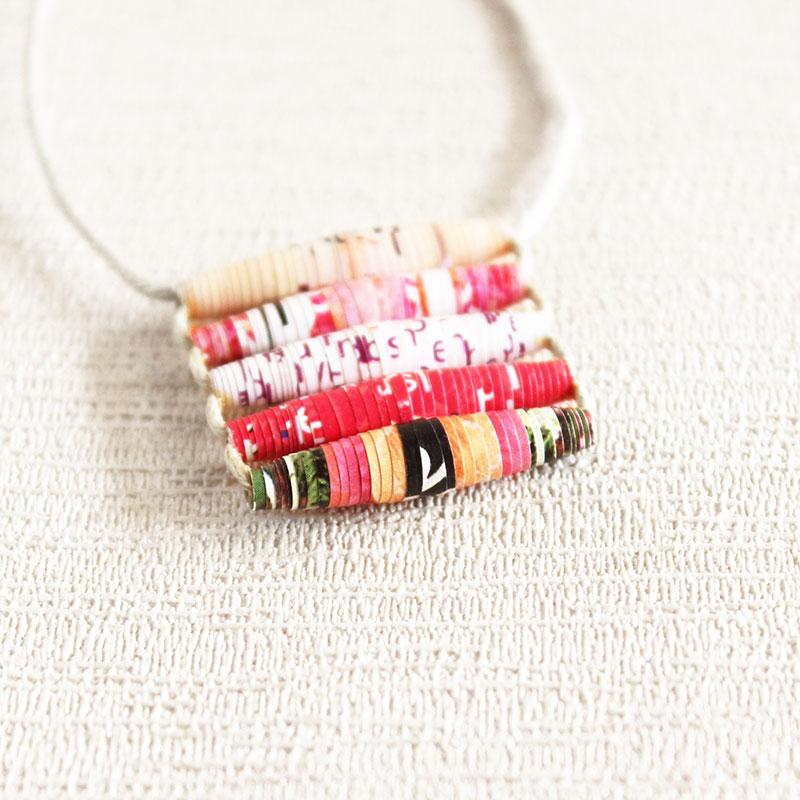 funky necklace boho jewelry