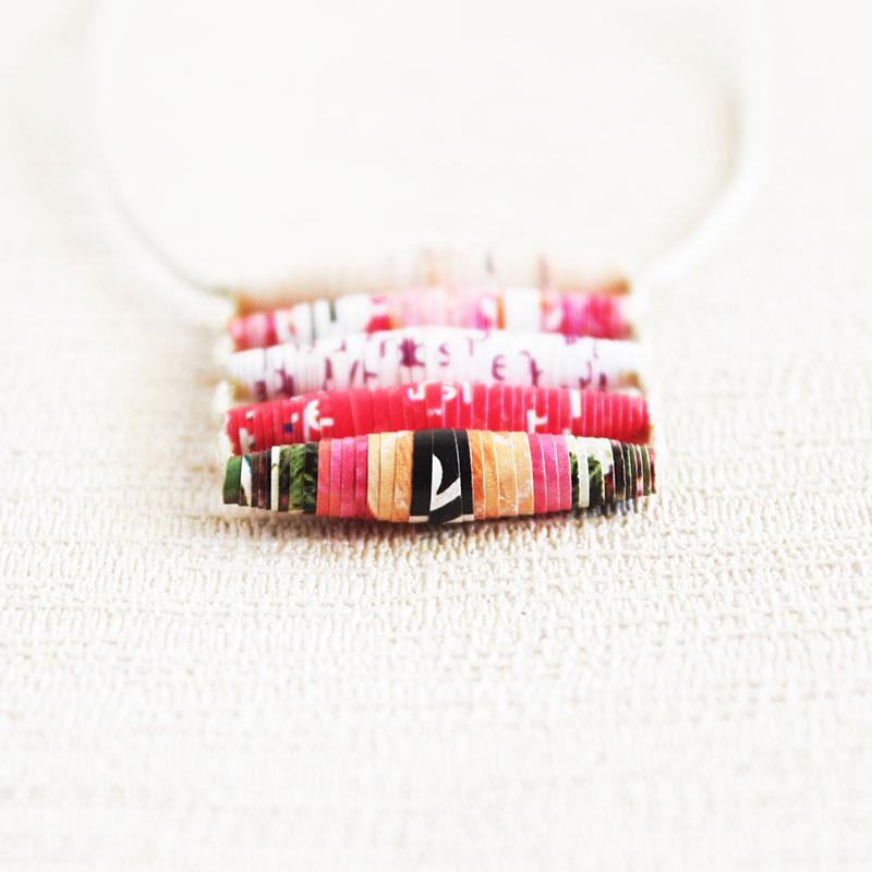 Art Magazine Necklace - Art Teacher Gift