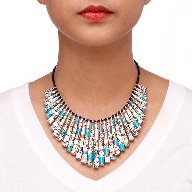 disneyland statement bib necklace