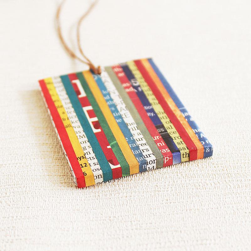 newspaper necklace journalist gift