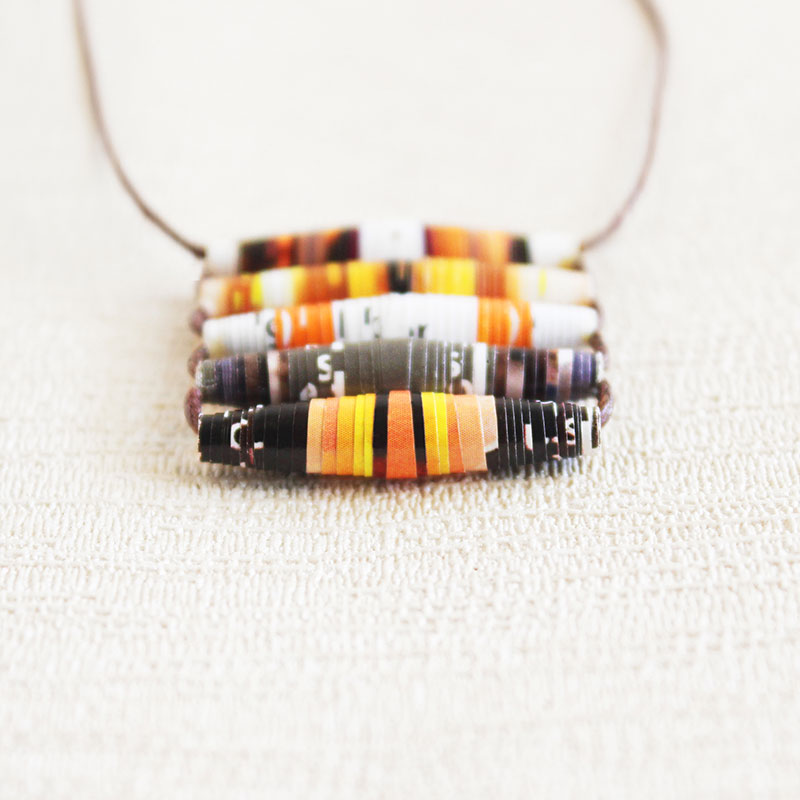 Food Magazine Necklace Gift for Cook Chef Cooking Enthusiast
