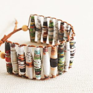 Garden Magazine Bracelet Gift for Eco Lover
