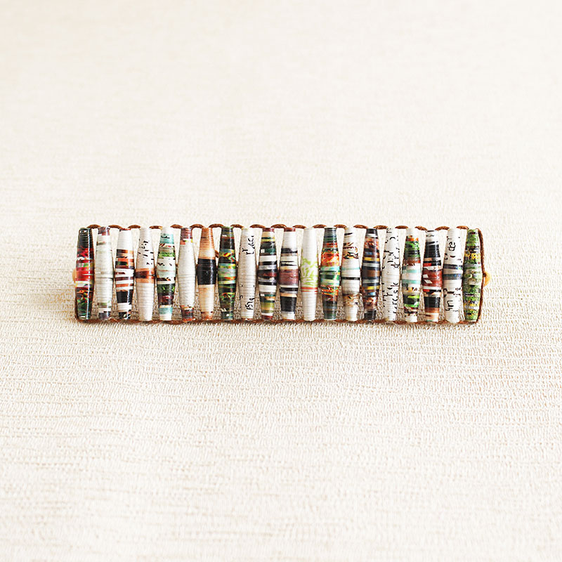 Recycled Paper Beaded Jewelry