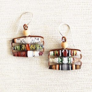 Garden Magazine Earrings Gift for Garden Lover