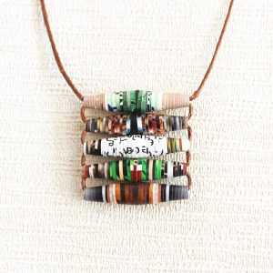 Garden Magazine Necklace - Gift for Gardener