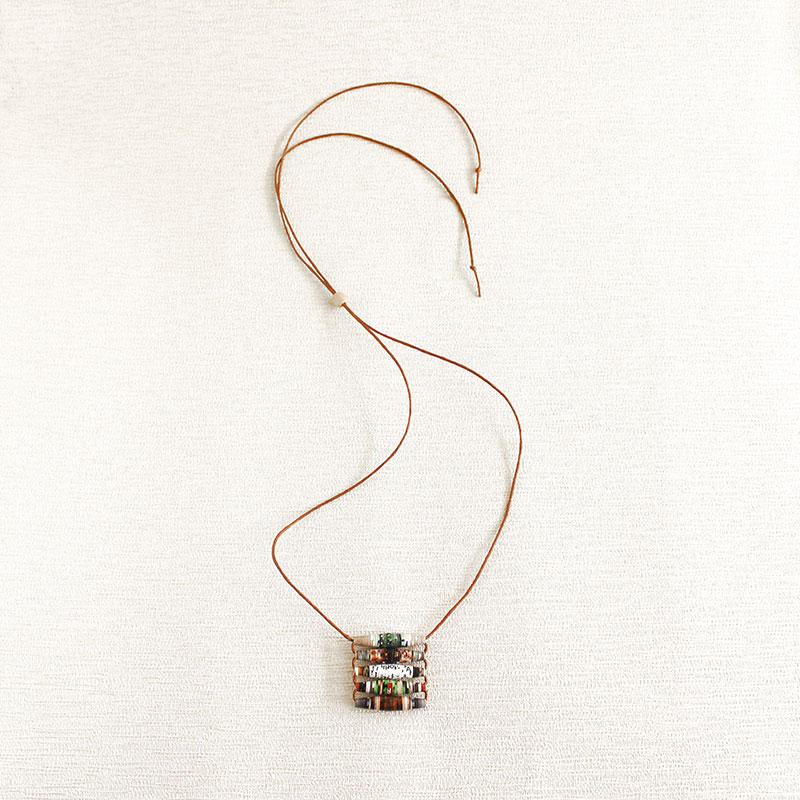 garden magazine necklace