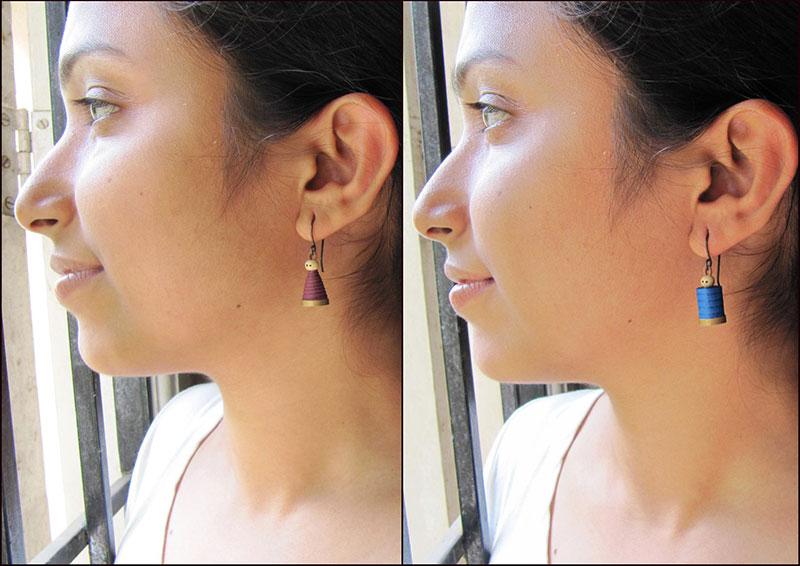 happy couple earrings cute gift jewelry