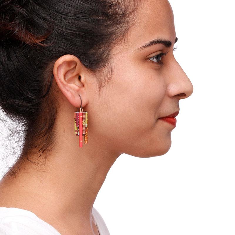 Modern Indian Jhumka Earrings
