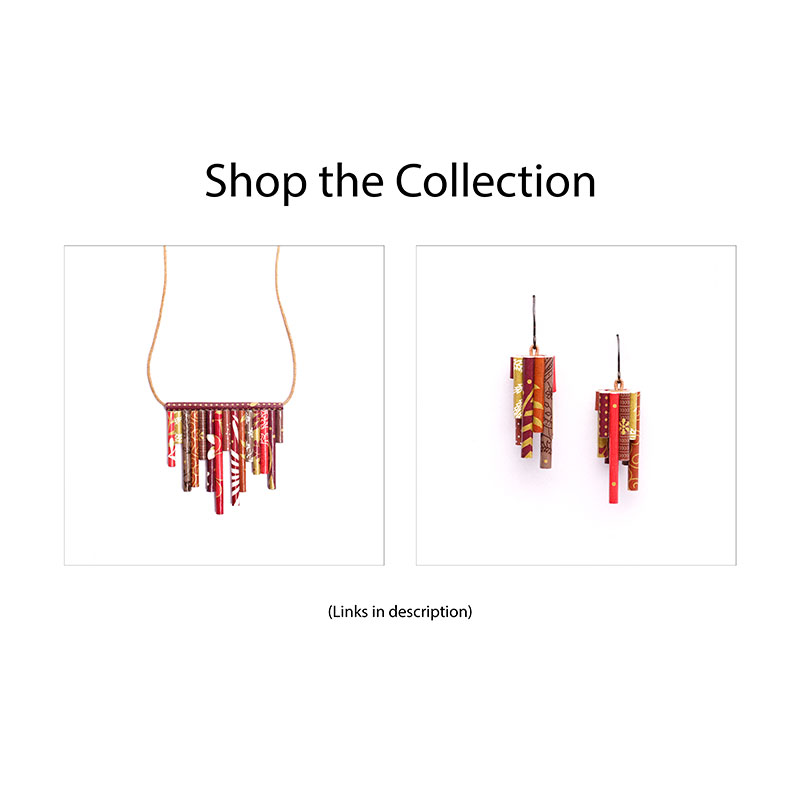 Modern Indian Jewelry collection necklace and jhumkas