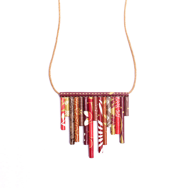 asymmetric necklace modern indian jewelry