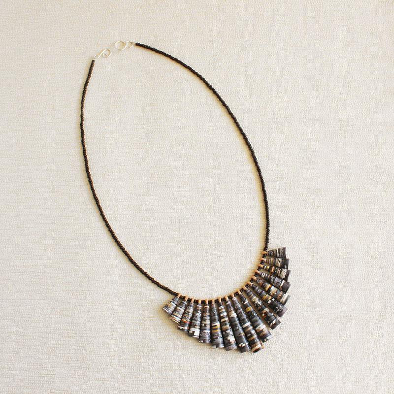 animal print jewelry safari necklace