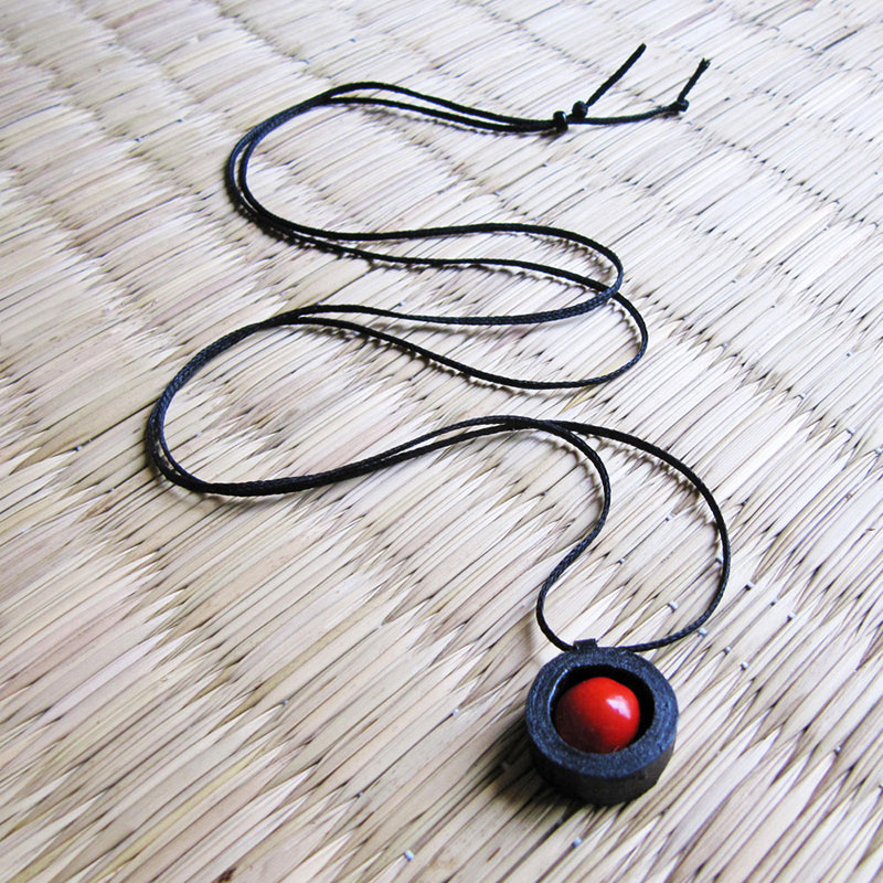 bright red circassian seed jewelry from real seeds