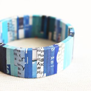 newspaper jewelry bookworm bibliophile nerd geek gift