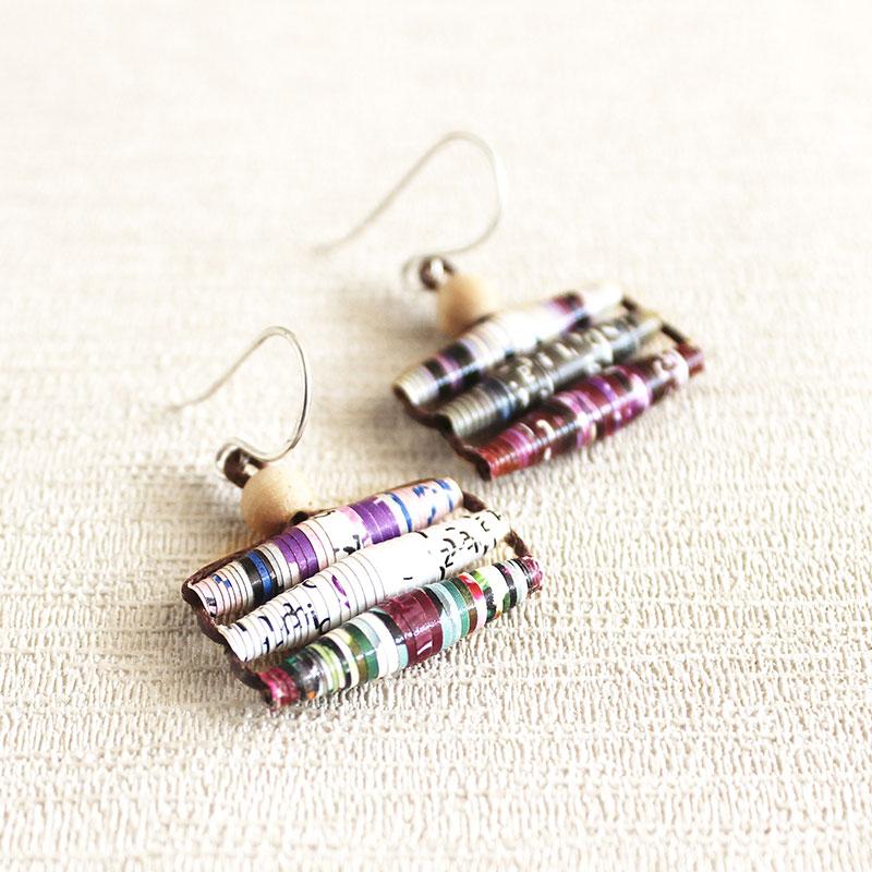 scientist gift earrings