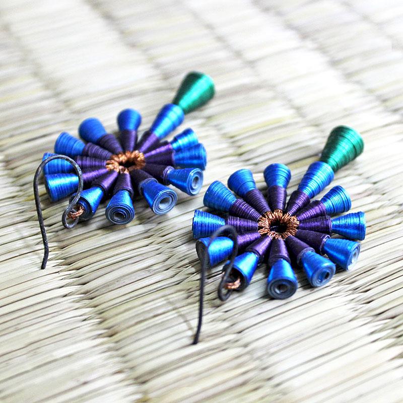 Big Bold Indian Statement Dangle Earrings