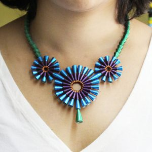Indian Peacock necklace
