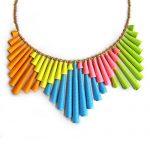 Statement Neon necklace