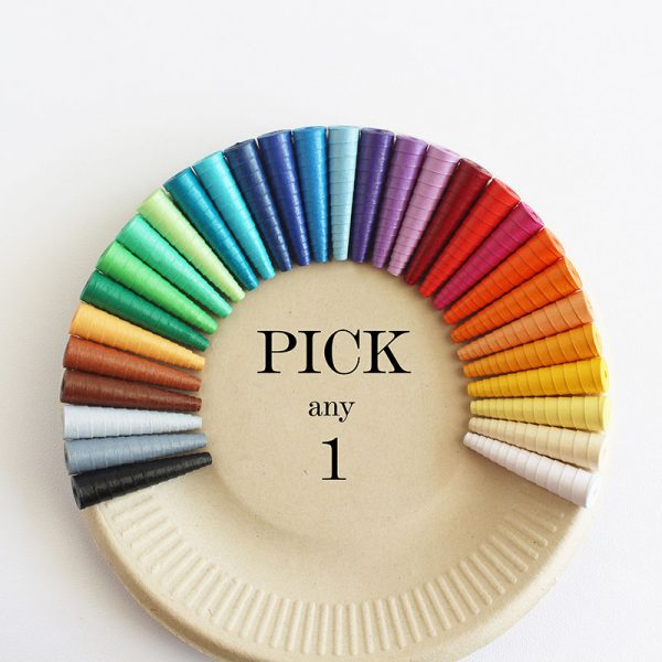 Solid color earrings - Pick any 1