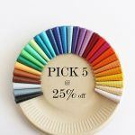 Solid color earrings - Pick 5 at 25% off