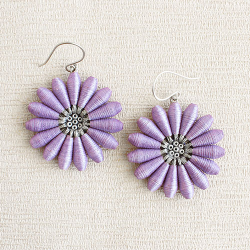Pastel lilac summer jewelry