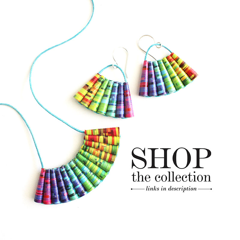 rainbow jewelry collection summer fashion
