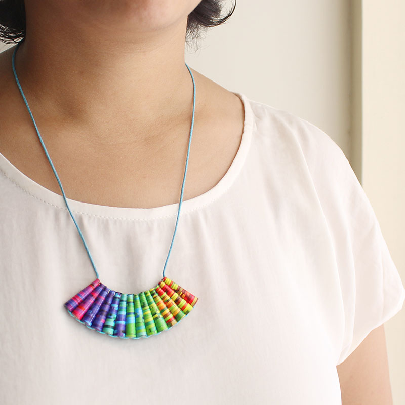 rainbow necklace LGBT Gay Pride Lesbian Queer Jewelry Gift