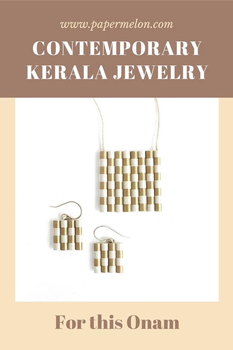 contemporary kerala jewelry for onam