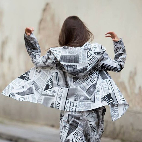 newspaper jacket for journalist