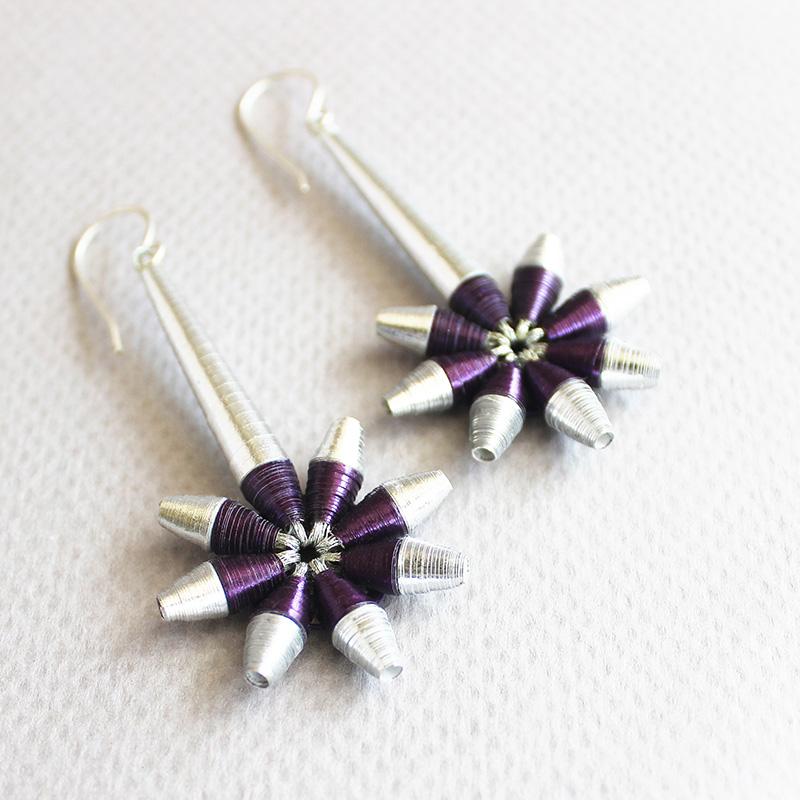 shooting star earrings celestial jewelry