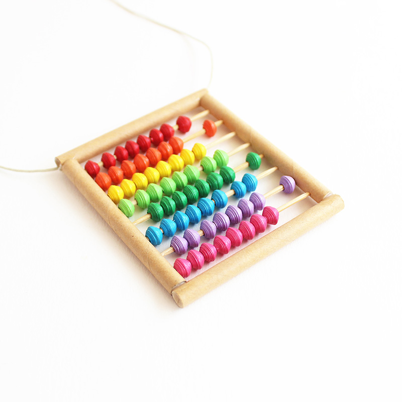 abacus necklace math jewelry