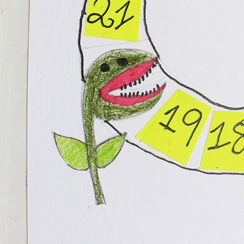 flytrapper drawing by kids