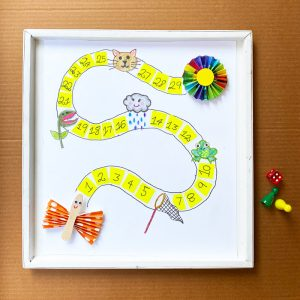 Butterfly Kids Board Game DIY