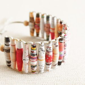 Art Magazine Bracelet Gift for Artist