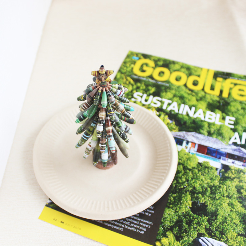 sustainable christmas xmas decor journalist gift