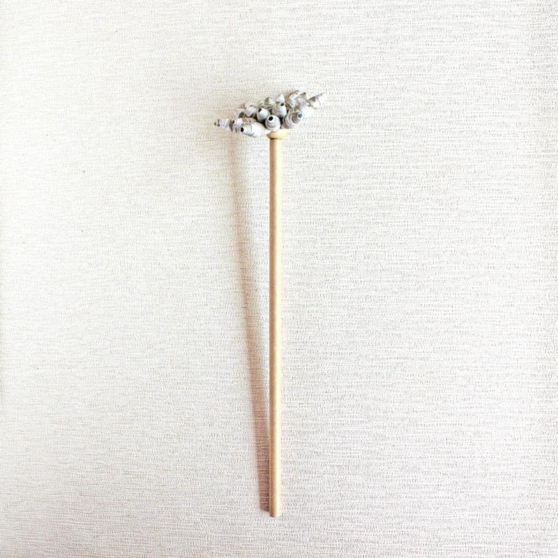 dahlia paper flower stem sustainable decor