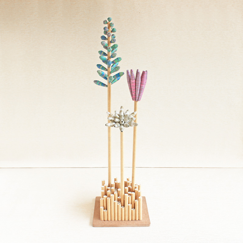 joli melange bouquet in vase modern french country spring decor