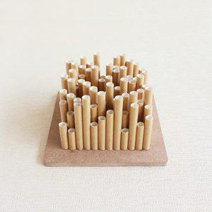 symphony square vase modern minimalist decor