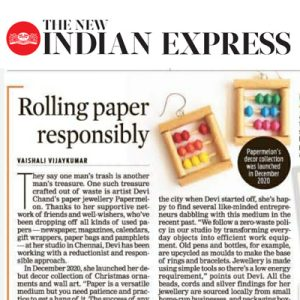 Papermelon featured on Indian Express