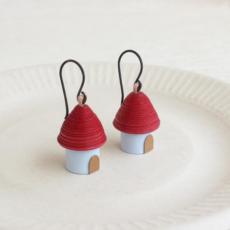 farmhouse cottage earrings housewarming gift
