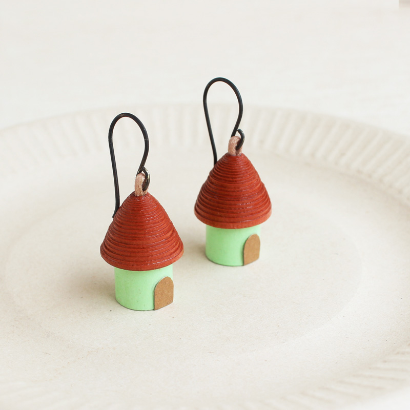 house earrings vacation jewelry