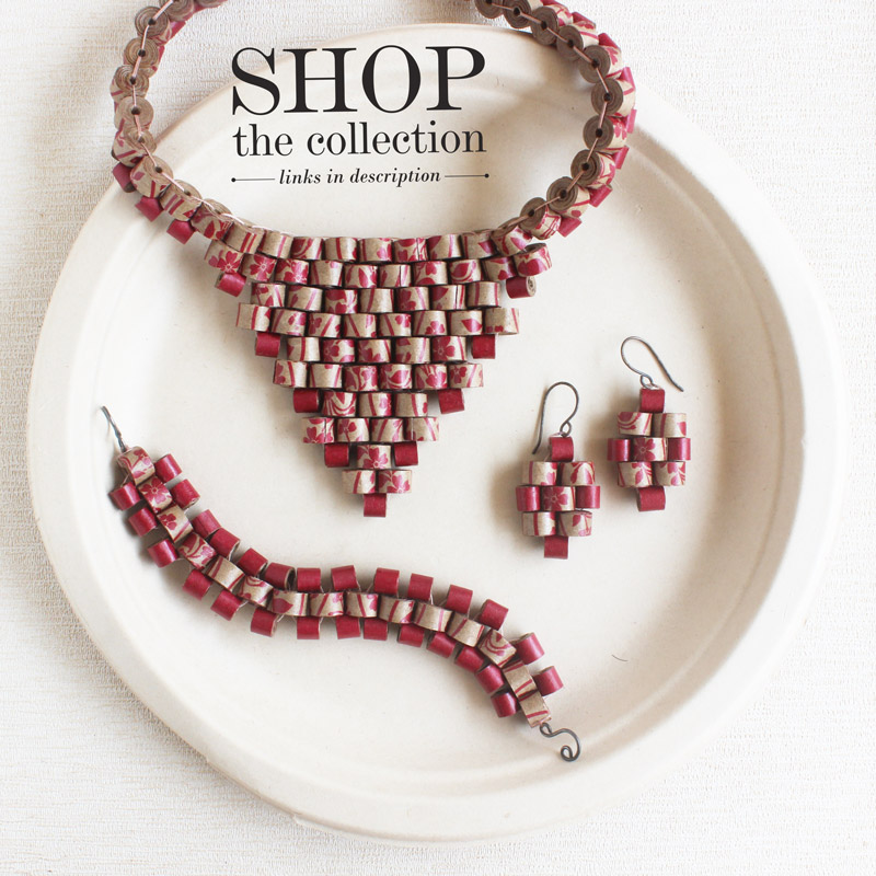 sustainable statement jewelry for eco fashion