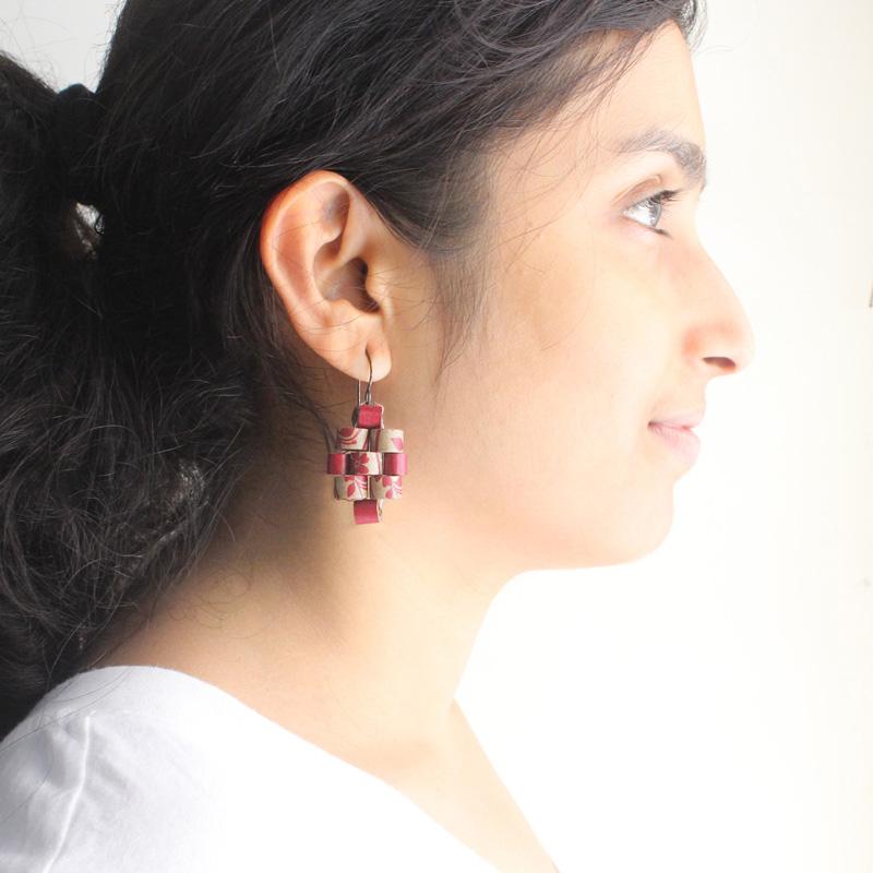 eco-friendly boho earrings