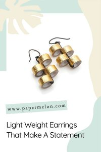 light weight earrings that make a statement