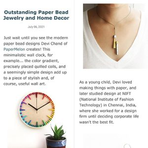 Papermelon as featured on All Things Paper