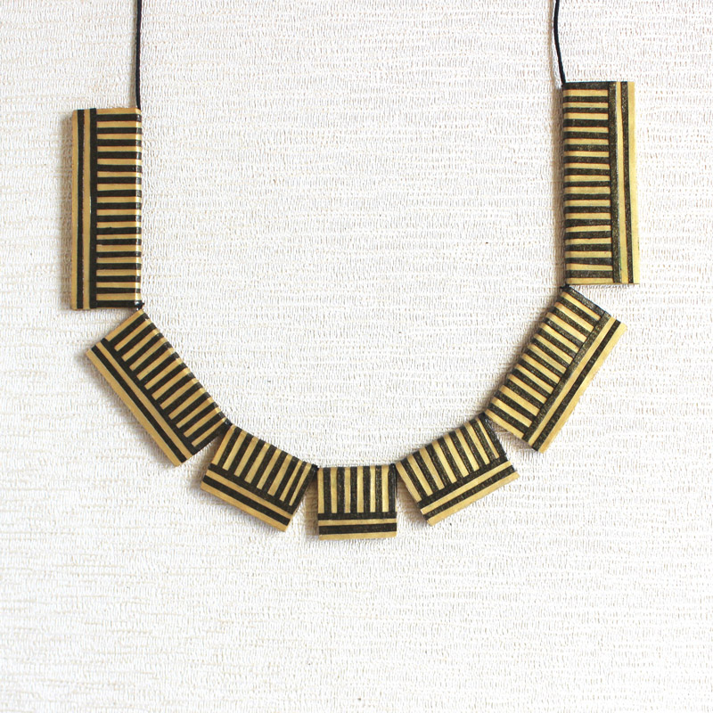 modern Indian necklace