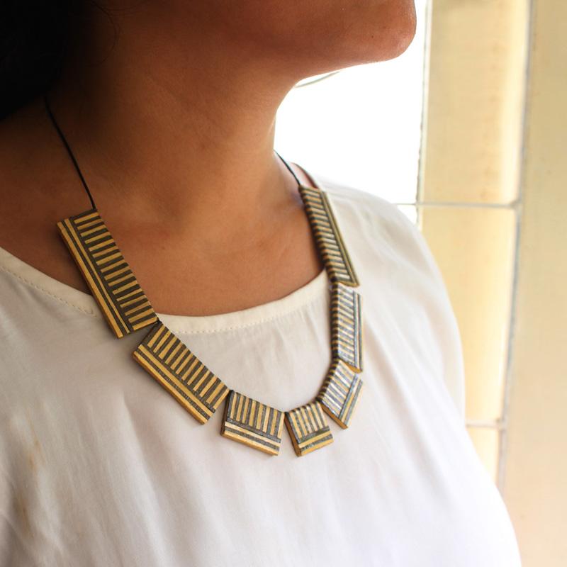 modern Indo-western necklace