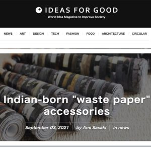 Papermelon featured on Ideas for Good